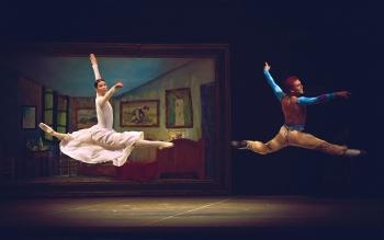 Ballet Vincent van de sterren van het Bolshoi Ballet