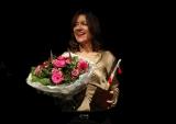 Uitreiking Jiri Kylian-ring aan Ingrid Wolff. foto Antoinette Mooy