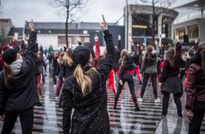 One Billion Rising 2019. Foto Sterk-Water